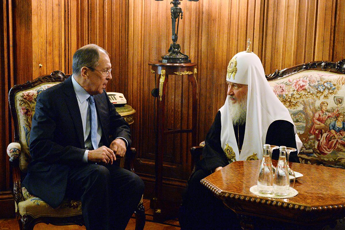«Пасхальный прием в Министерстве иностранных дел Российской Федерации»