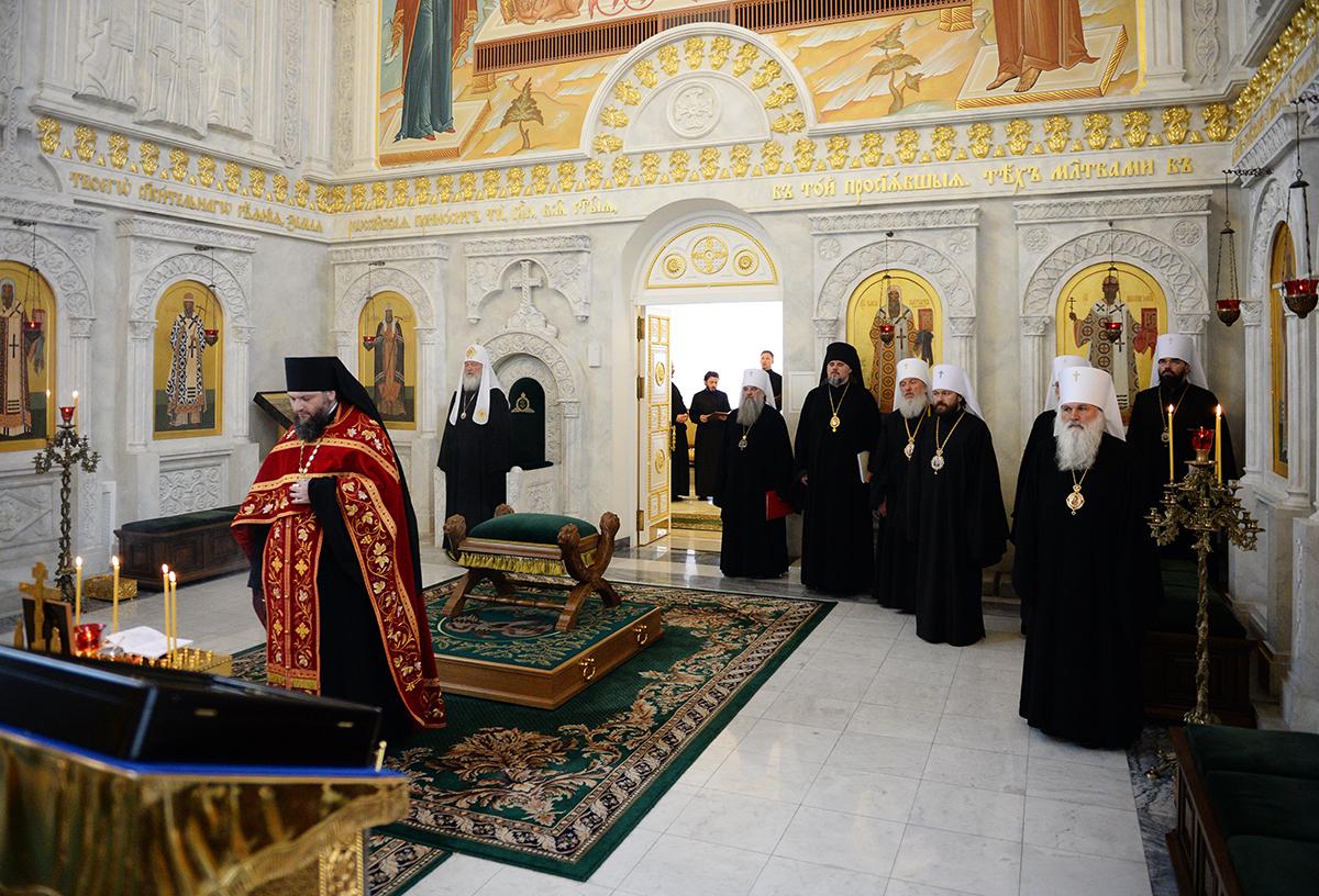 Заседание Священного Синода Русской Православной Церкви от 3 июня 2016 года