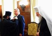 Посол Российской Федерации в Болгарии награжден орденом Болгарской Православной Церкви