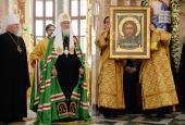 Слово Святейшего Патриарха Кирилла после Литургии в соборе Благовещения Пресвятой Богородицы в Йошкар-Оле