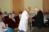 Председатель Синодального отдела по социальному служению поздравил сотрудников столичной Больницы святителя Алексия с Днем медицинского работника