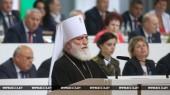 Митрополит Минский Павел и митрополит Филарет (Вахромеев) приняли участие в Пятом Всебелорусском народном собрании