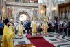 Патриарший визит в Сыктывкарскую епархию. Прибытие. Литургия в Стефановском кафедральном соборе г. Сыктывкара