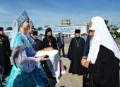 Святейший Патриарх Кирилл прибыл в Сыктывкар