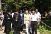 Министр культуры России стал председателем Попечительского совета столичного храма Живоначальной Троицы в Троицке