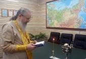 В Национальном центре управления обороной России совершена Божественная литургия