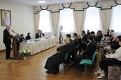 Юридическая служба Московской Патриархии провела семинар для епархий Уральского, Cибирского и Дальневосточного федеральных округов