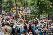 Всеукраинский крестный ход начал свой путь от Святогорской лавры