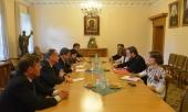 Заступник голови ВЗЦЗ зустрівся з делегацією швейцарських дипломатів