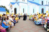 В День семьи, любви и верности епархиальный фестиваль семей прошел в городе Шахты