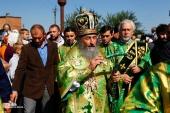 Блаженнейший митрополит Киевский и всея Украины Онуфрий благословил особое молитвенное правило на время Всеукраинского крестного хода мира