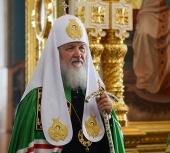 Слово Святейшего Патриарха Кирилла после Литургии в Спасо-Преображенском соборе Валаамского монастыря