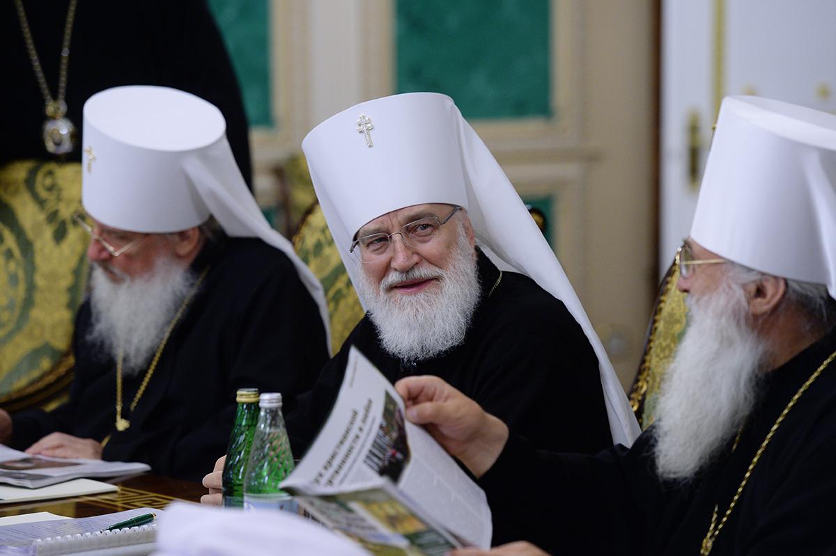 Заседание Священного Синода Русской Православной Церкви от 15 июля 2016 года
