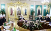 Состоялось очередное заседание Священного Синода Русской Православной Церкви