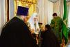 Патриаршее служение в Троице-Сергиевой лавре. Наречение архимандрита Евгения (Кульберга) во епископа Среднеуральского и архимандрита Феодора (Малаханова) во епископа Вилючинского