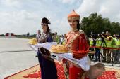 Святейший Патриарх Кирилл прибыл в Казань
