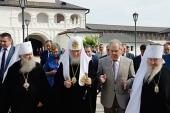 Святейший Патриарх Кирилл посетил Свияжск