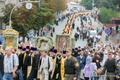 Синод Украинской Православной Церкви призвал верующих присоединиться к Всеукраинскому крестному ходу за мир