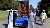 Всеукраинский крестный ход вошел в пределы Овручской и Бориспольской епархий