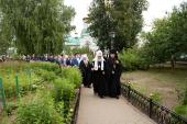 Патриарший визит в Татарстанскую митрополию. Посещение Раифского Богородицкого монастыря