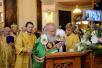 Патриаршее служение в храме иконы Божией Матери «Всех скорбящих Радость» на Большой Ордынке г. Москвы