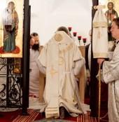 Председатель Синодального отдела по монастырям и монашеству освятил придел в Зачатьевском ставропигиальном монастыре