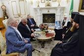 Святейший Патриарх Кирилл провел рабочую встречу, посвященную вопросам восстановления Костромского кремля