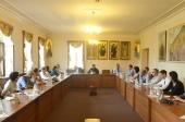 Председатель Отдела внешних церковных связей встретился с группой израильских дипломатов
