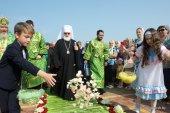Патриарший экзарх всея Беларуси возглавил торжества по случаю 50-летия со дня кончины и 10-летия со дня прославления блаженной Валентины Минской