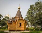 На территории Новгородского кремля освящен новопостроенный храм в честь равноапостольного князя Владимира