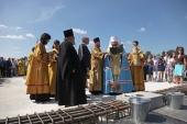 В Челябинске заложен кафедральный собор Рождества Христова