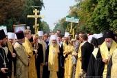 Более 80 тысяч верующих приняли участие во Всеукраинском крестном ходе в центре Киева
