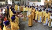 В г. Шахты отметили пятилетие образования Шахтинской епархии