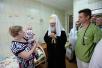 Патриарший визит в Орловскую митрополию. Посещение Научно-клинического центра медицинской помощи матерям и детям в Орле