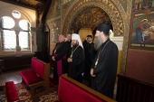Митрополит Волоколамский Иларион посетил храм святых Кирилла и Мефодия в Любляне