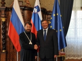 Председатель Отдела внешних церковных связей Московского Патриархата встретился с заместителем премьер-министра, министром иностранных дел Словении