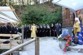 Состоялись торжества, посвященные 100-летию Русской часовни на перевале Вршич