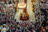 Пятилетие Донской митрополии молитвенно отпраздновали в Патриаршем Вознесенском соборе Новочеркасска