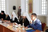 Патриарший визит в Нижегородскую митрополию. Встреча в Сарове с российскими учеными