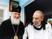 Поздравление Святейшего Патриарха Кирилла Фиделю Кастро Рус с 90-летием со дня рождения