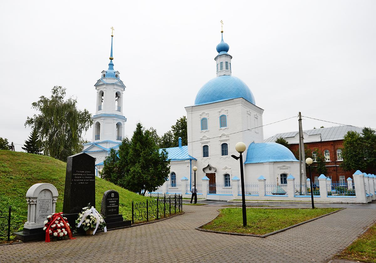 Патриаршая поездка в Зарайск. Лития по защитникам города, павшим в Смутное время. Посещение Благовещенского храма