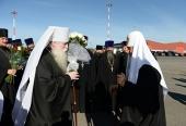 Святейший Патриарх Кирилл прибыл в Мурманск