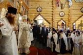 Святейший Патриарх Кирилл освятил Андреевский кафедральный морской собора г. Североморска
