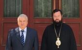 Руководитель Управления Московской Патриархии по зарубежным учреждениям встретился в Пекине с послом Российской Федерации