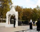 Святейший Патриарх Кирилл в Североморске возложил цветы к мемориалу защитников Заполярья, павших в годы Великой Отечественной войны