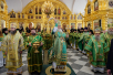 Патриарший визит на Соловки. Освящение Троицкого собора Соловецкого монастыря. Божественная литургия