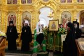 Слово Святейшего Патриарха Кирилла после Литургии в Свято-Троицком соборе Соловецкого монастыря