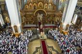 Peste patru mii de credincioși s-au rugat întru pomenirea sfântului ierarh Mitrofan, primul episcop al Voronejului