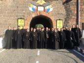 Corul clerului Mitropoliei de Sanct-Petersburg a luat parte la zilele culturii ruse în Armenia