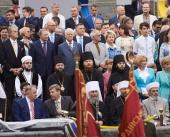 Митрополит Киевский и всея Украины Онуфрий принял участие в торжествах по случаю 25-й годовщины независимости Украины